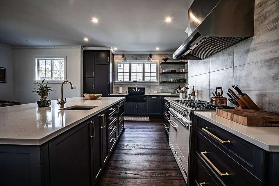 custom kitchen renovation contractors Westport CT