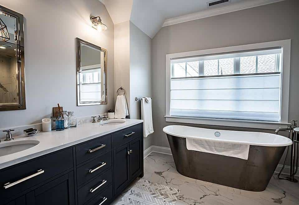 custom bathroom remodel contractor near me
