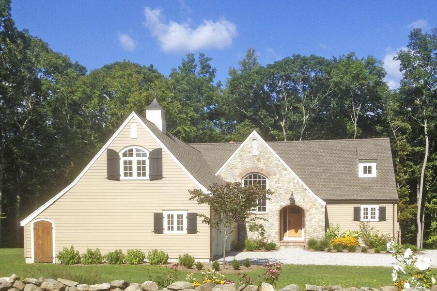 custom new home builder Darien CT